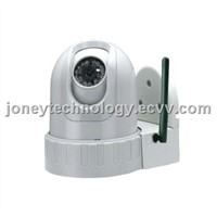 IR Pan & Tilt IP Camera for Indoor ,H264 Compression High Definition CMOS 2 Megapixels