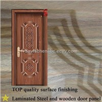 Interior Steel Wooden Door B308