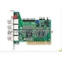 KODICOM(V4.13 SOFTWARE) DVR board,4channel BNC input, KDM-8016d