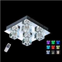 LED crystal ceiling light GB-40465-4S