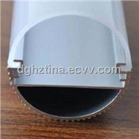 LED tube with aluminum base