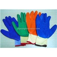 Latex coated glove RBJSV