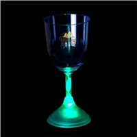Led Lighte Up  Red wine Glass