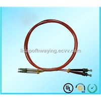 MM LC-ST Fiber Optic Patch Cord