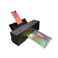 Metallic printer decal printer foil printer
