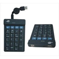 Numerical Keypad with USB Hubs JH-HSFR23