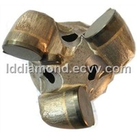 PDC drill bit for blast hole drilling