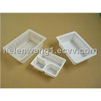 PET Blister Plastic Toufu Packing Tray