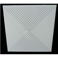 Perforated Aluminium False Ceiling Tiles