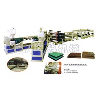 Plastic Building Templates Board Production Line