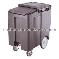 Plastic ice cart mould