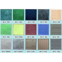Polyester fiber is sound-absorbing board :sound-absorbing board