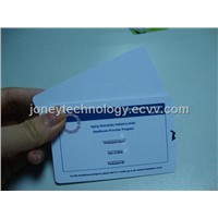 RFID Smart Card Contactless for Access Control 125KHZ or 13.56mhz Frenquency-Card Access Control