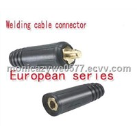 Red & Black Ce Certification Welding Cable Joint