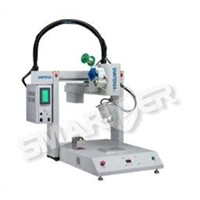 SMARTER SR3030S-YM-100 soldering robot machine with automatic solder feeder