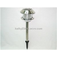 Solar Stainless Steel Garden Light