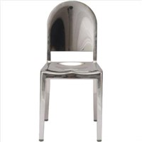 Stainless bar stools
