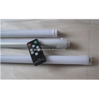 T8 led tube with remote control
