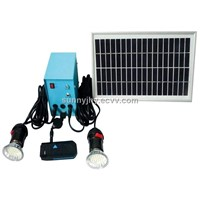 TP202 Solar Home Lighting with 2pcs LED,suitable for lighting in area while lack of electricity.