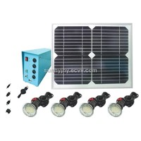 TP203 Solar Home Lighting System, 4pcs 3W LED,low-cost,energy saving