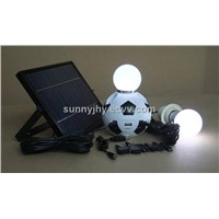 TP208 Solar Magic Football Lighting System, 5W solar panel,5000mAh Li-ion battery