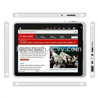 Tablet PC with 7-inch Sensitive Capacitive Touchscreen, Google's Android, Built-in 2-camera(AN7006B)