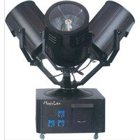 Three head Sky tracker / Moving head light / sky searchlight /outdoor lighting (MagicLite) M-D004