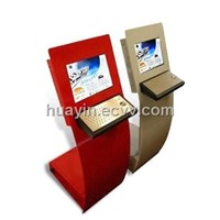 Touch Kiosk with Pure Tempered Glass