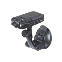 "Vehicle Camera,140 Degrees Wide Angle Digital Car Recorder w/2-LED Flash/Motion Detection/2.0"" LCD 2"