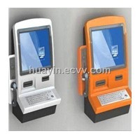Wall Mounted Kiosks with Handset
