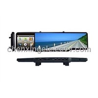 Wide angel lens Car rearview mirror DVR-110