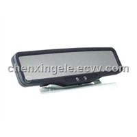 Wide angle lens Rearview mirror car DVR-100A