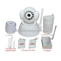 IP Camera with Alarm Accessories