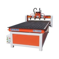 Wood Furniture CNC Machine QL-1325 with Four Heads