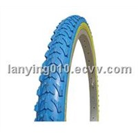 bicycle color tire