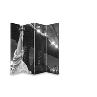 black and white New york style canvas screens