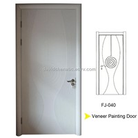 carved  wood door FJ-040
