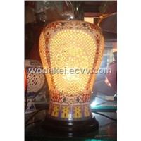 ceramic art table lamp decoration