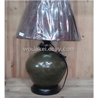 ceramic  vase table lamp decoration