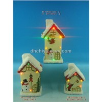 christmas led light house