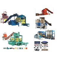 Concrete Brick Making Line