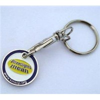 custom promotion metal key chain