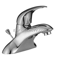 double hole basin mixer