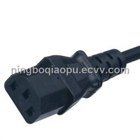 extension power cords|IEC cords|IEC 60320 C-13|IEC connector|computer cables