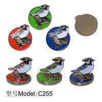 folding ball marker&cap clip