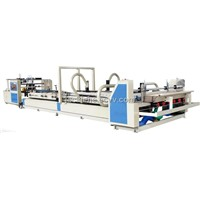 full automatic folder and gluing machine