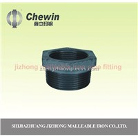 galvanized malleable iron pipe fitting reducing bushing