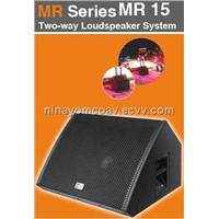 hot sale Pro Audio Two-way Loudspeaker System MR15