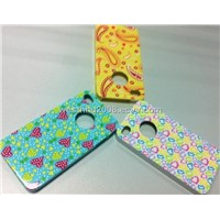 iPhone4G PC+Heat transfer printing