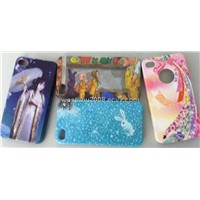 iPhone4G water transfer printing +UV Case